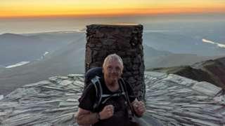 Paul Ellis, at the summit