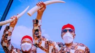 Buhari in Imo state
