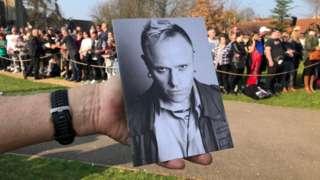 Keith Flint funeral