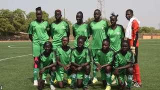Güney Sudan Kadın Futbol Takımı