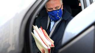 EU chief negotiator Michel Barnier, 22 Oct 20