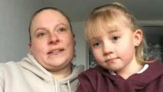 Tina Walsh and daughter Tyler, 6