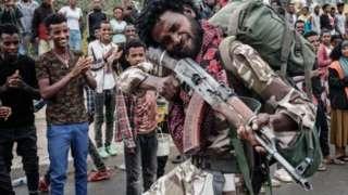 Inyeshamba za Tigray zihanganye n'ingabo za reta ya Ethiopia kuva mu kw'icumi na rimwe guheze
