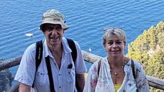 Lynn Edmonds with her father Richard