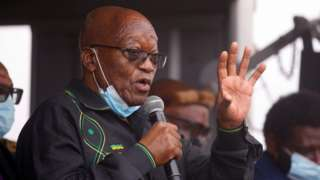 Jacob Zuma Bbc News