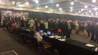 Doncaster council election count