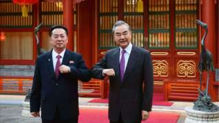중국 외교부 공개 사진