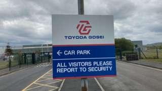 Toyoda Gosei site in Swansea