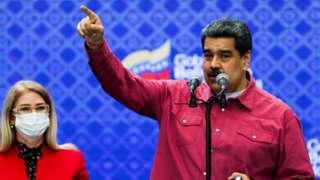 Maduro celebra