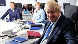 La semana pasada, el primer ministro británico, Boris Johnson, visitó a los líderes de Francia y Alemania, Emmanuel Macron y Angela Merkel.