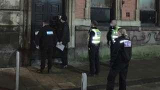 Police raid on bar