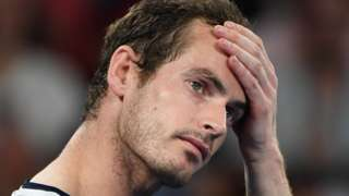 Andy Murray after losing to Roberto Bautista Agut