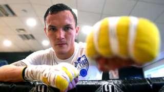 Boxer Josh Warrington