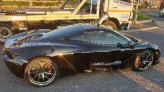 black McLaren