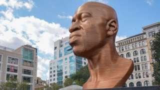 George Floyd sculpture