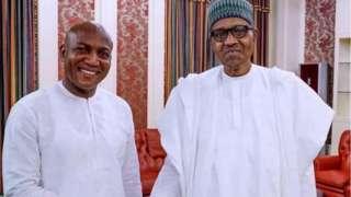 David Lyon and Muhammadu Buhari