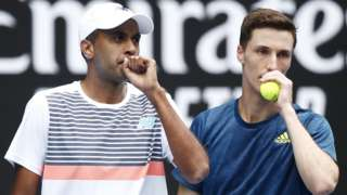Rajeev Ram and Joe Salisbury discuss tacics