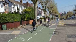 How the cycle route should look
