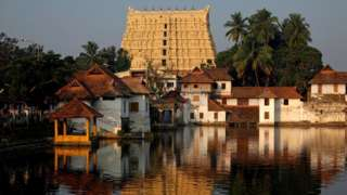 File photo of the Sri Padmanabhaswamy Temple