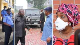 Joy Nunieh house arrest