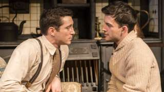 Jonathan Bailey and Ben Batt