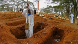 digging graves in Sao Paulo