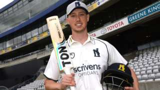 Warwickshire's new signing from Somerset Adam Hose