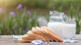 süt ve ekmek
