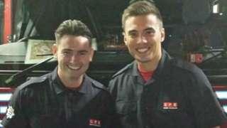 Mitchell Baldock and Jordan Wright