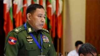 ငြိမ်းချမ်းရေးခေါင်းစဉ်တပ်ပြီး ပါတီတချို့နဲ့တွေ့ဆုံပွဲမှာ စစ်တပ်က PR စနစ်အကြောင်း ရှင်းပြ