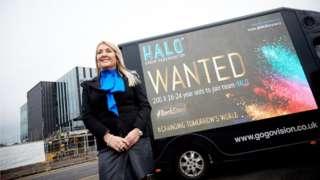 Marie Macklin, executive chairwoman of The Halo Urban Regeneration Company