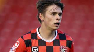 George Dobson scored once in 26 appearances for Walsall in the 2016-17 season