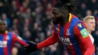 Bakary Sako scores the opening goal against Crystal Palace