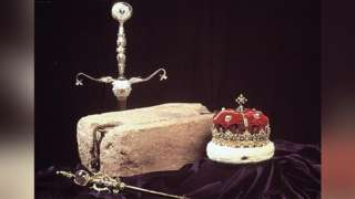 Stone of Destiny and Honours of Scotland