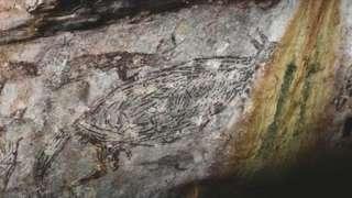 В Австралії знайшли наскельний малюнок, якому понад 17 тисяч років