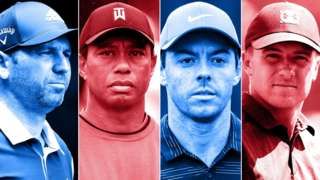 Ryder Cup collage