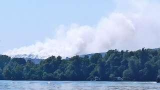 Густ дим из Винче прекрио је значајан део Београда у недељу