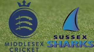 Middlesex v Sussex