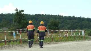 Радници једног од рудника у Бору