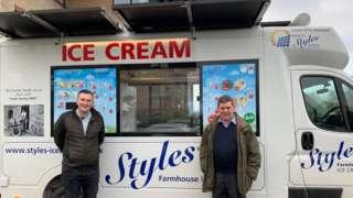 Styles ice-cream van
