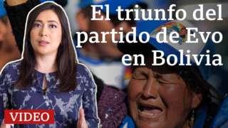 El triunfo del partido de Evo Morales en Bolivia