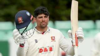 Alastair Cook has now made four first-class centuries six visits to New Road - three for Essex and one for England Lions