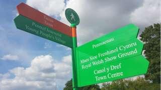 Llwybr Gwyrdd y Sioe Frenhinol