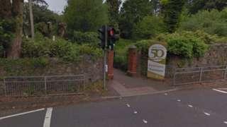 Entrance to Singleton park