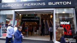 Dorothy Perkins/Burton store