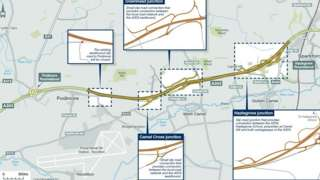 Ilchester to Sparkford A303 improvements