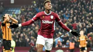 Tammy Abraham scores his 17th goal of the season