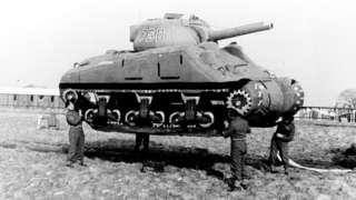 रबर से बने टैंक