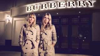 Suki Waterhouse and Cara Delevigne model Burberry