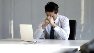 Stock image of office worker